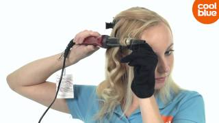 Remington CI96W1 Silk Curling Wand krultang videoreview en unboxing (NL/BE)