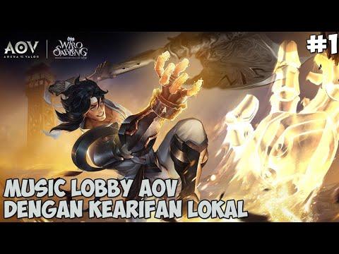 Music Lobby AOV Rasa Indonesia, Spesial Hero Wiro Sableng - Arena Of Valor