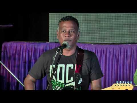 Worship by Kripal mohan at YOUTH CAMP 2017 Bellary
