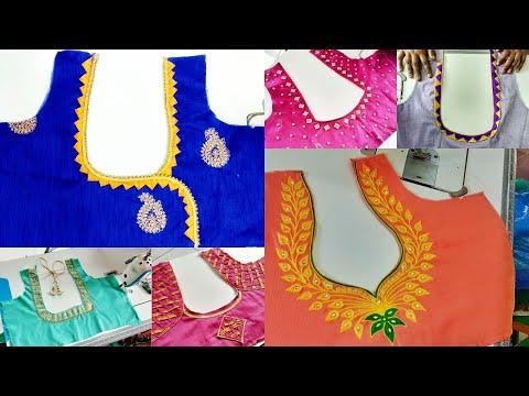 21 Blouse Designs Images 2019 Blouse Back Neck Designs Photos