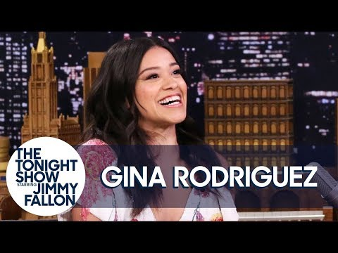 Gina Rodriguez Met Her Fianc� When He Stripped for Her on Jane the Virgin