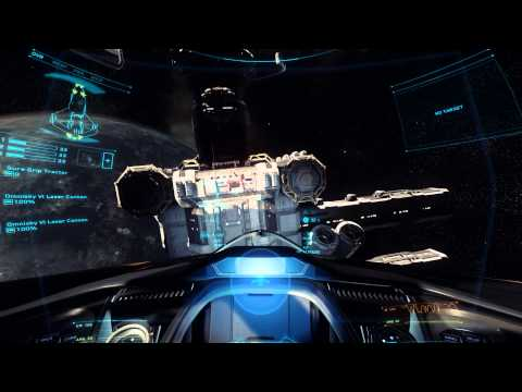 Star Citizen Alpha 2.0 PTU - Exploring the Shipping Hub