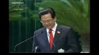 ĐB Dương Trung Quốc hỏi   Thủ tướng trả lời , Nguyễn Tấn Dũng