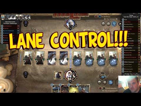DestroPlays Yellow/Red Token Deck - Let's Play Elder Scrolls: Legends - Versus Matches - Part 1 [PC]