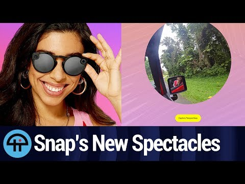 New Snap Spectacles are Slimmer and Take Still Photos