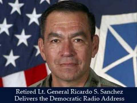 Retired Lt. General Ricardo S. Sanchez