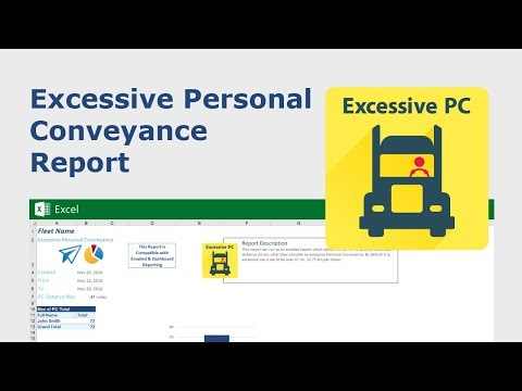 Excessive Personal Conveyance Custom Report | Geotab Marketplace
