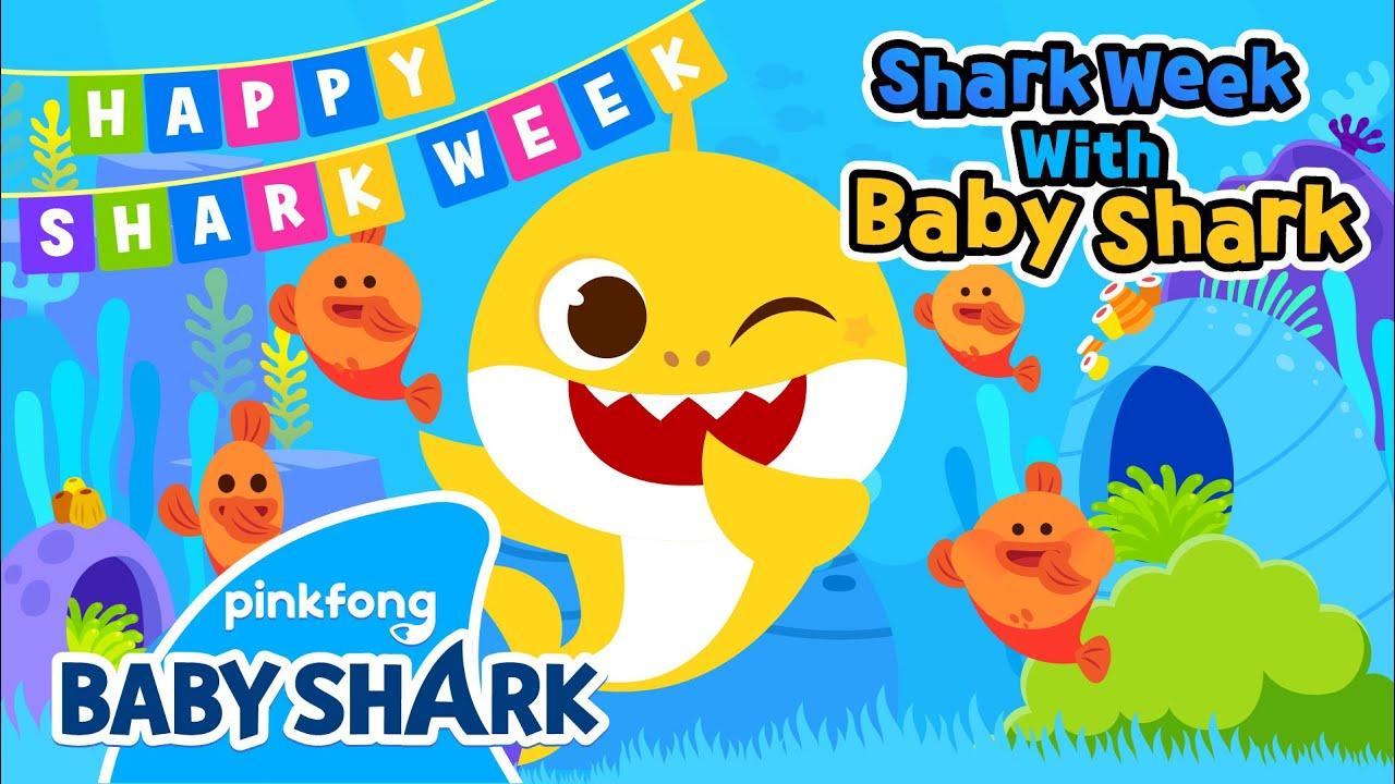 Dance and Move like Sea Animals | Shark Week with Baby Shark | Baby Shark Official