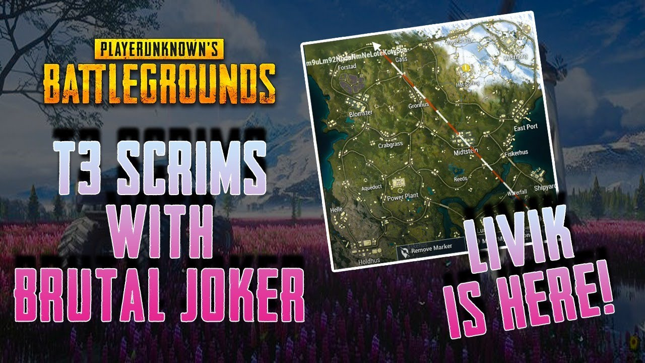 Livik Map Is Here | T3 Tier Scrims | Pubg Mobile Live | Custom Room live | Daily UC Giveaway