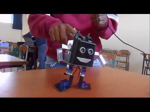 Como hacer un robot b pedo con servomotores proyecto unam youtube - Como crear un proyecto ...