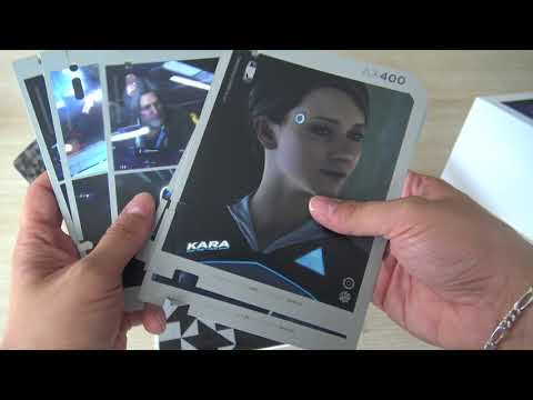 Detroit Become Human PS4 Press Kit Collector: Déballage Unboxing FR HD (N-Gamz)