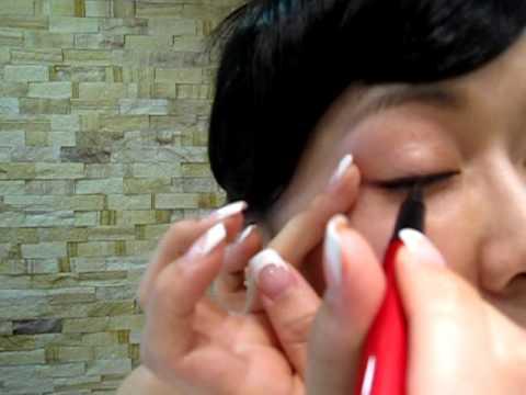 如何畫眼線HOW TO DRAW EYELINES - YouTube