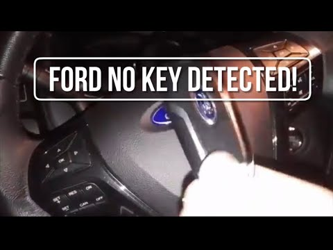 How to start 2016-2019 Ford explorer with dead key fob