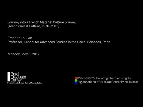 Journey into a French Material Culture Journal