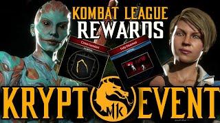 Mortal Kombat 11 | New Cassie & D'vorah Krypt Event (Kombat League Rewards & Location)