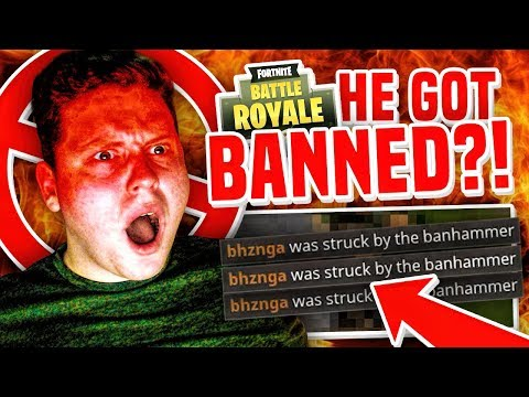 BANNED MID GAME in Fortnite Battle Royale!