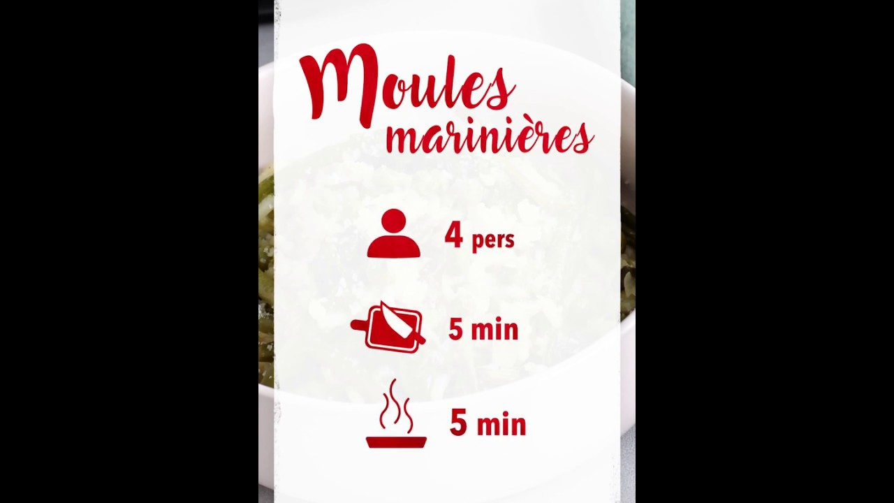 Recette Cookeo Moules Marinieres