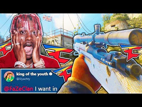 REACTING to LIL YACHTY playing CALL OF DUTY LIVE!! (Lil Yachty Joins FaZe Clan)