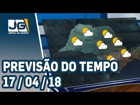 Previsão do Tempo - 17/04/2018