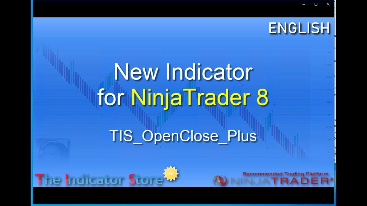 New TIS_OpenClose_Plus Indicator for NinjaTrader 8