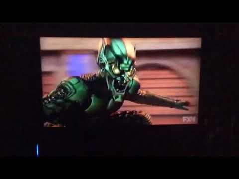 Spider-Man Peter Parker Spider-Man vs Norman Osborn Green Goblin first fight