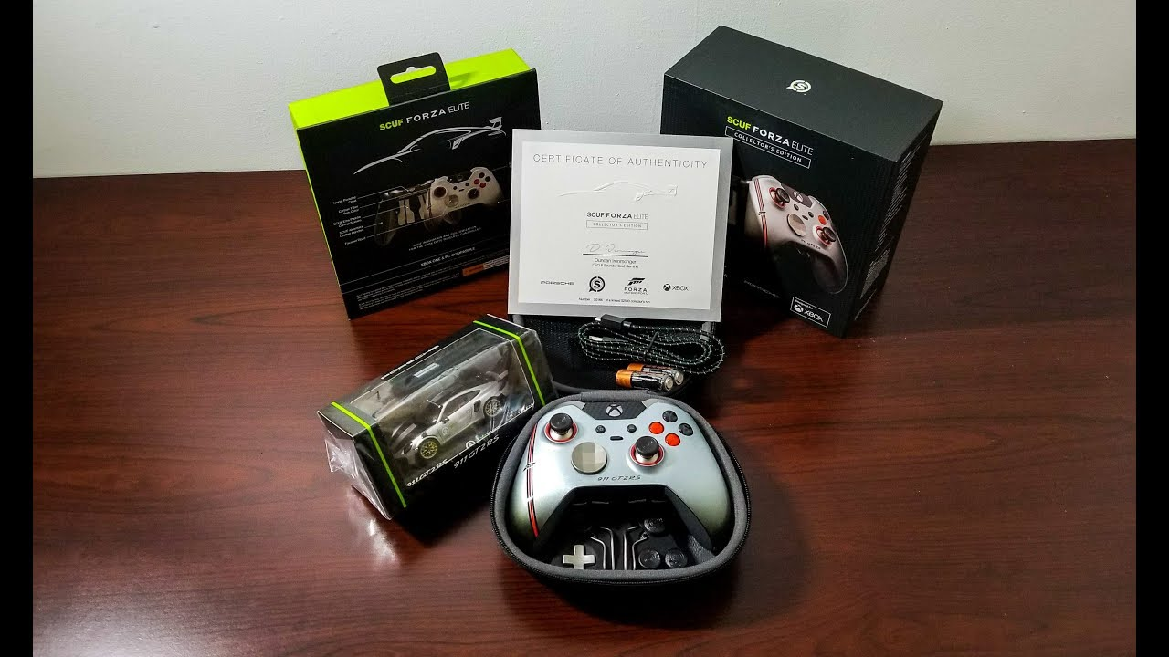 Unboxing the Scuf Forza Elite Collector\u0027s Edition Bundle!!!