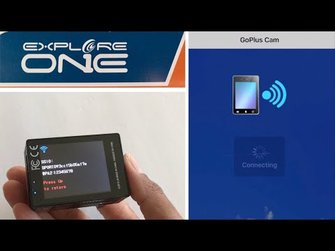 Explore One Action Camera | Wifi/App SetUp (incl. downloading, frozen screen & heating issues!)