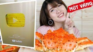 Thịt CUA HOÀNG ĐẾ Ăn Mừng NÚT VÀNG Youtube Món Ăn Ngon