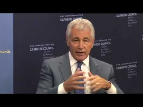 Chuck Hagel: Honesty & the U.S.-Israeli Relationship