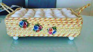 Aprenda a Fazer Cesta Porta Ovos
