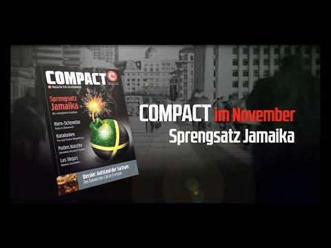 COMPACT im November: Sprengsatz Jamaika. Die unmögliche Koalition