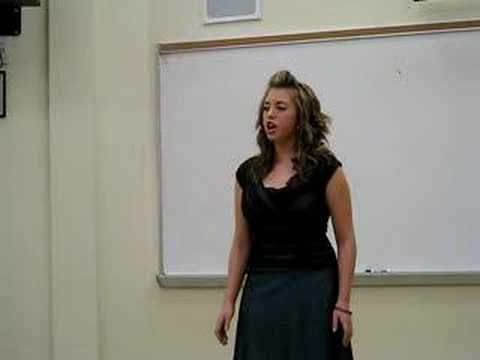 Holly Starr Classical Voice Competition 10th Grade