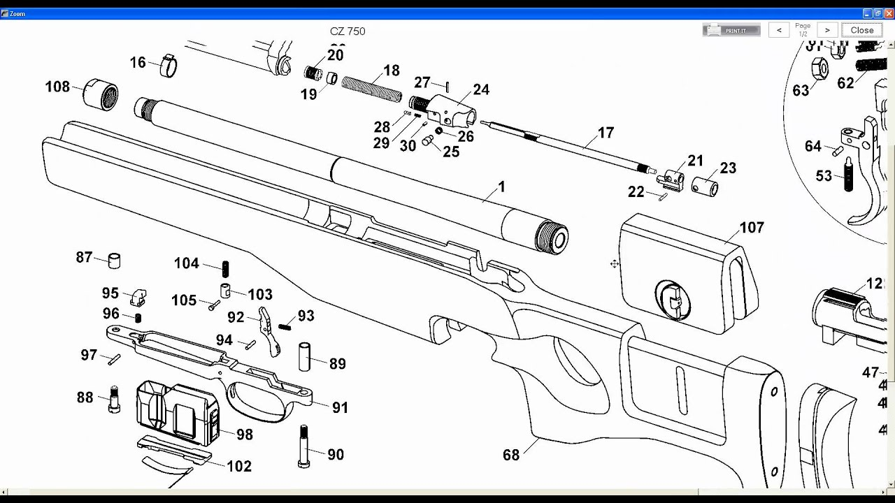 Gun Schematics or Diagrams Ideal for Gunsmithsavi  YouTube