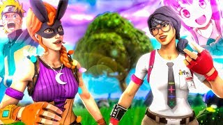 DOS OTAKUS EN FORTNITE