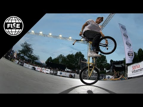 FISE Budapest 2017: BMX Freestyle Flat Pro Semi Final - REPLAY