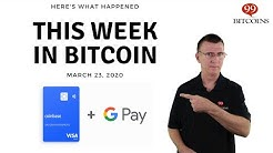 This week in Bitcoin - Mar 23rd, 2020