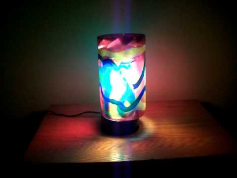 Psychedelic Motion Hippie Lamp