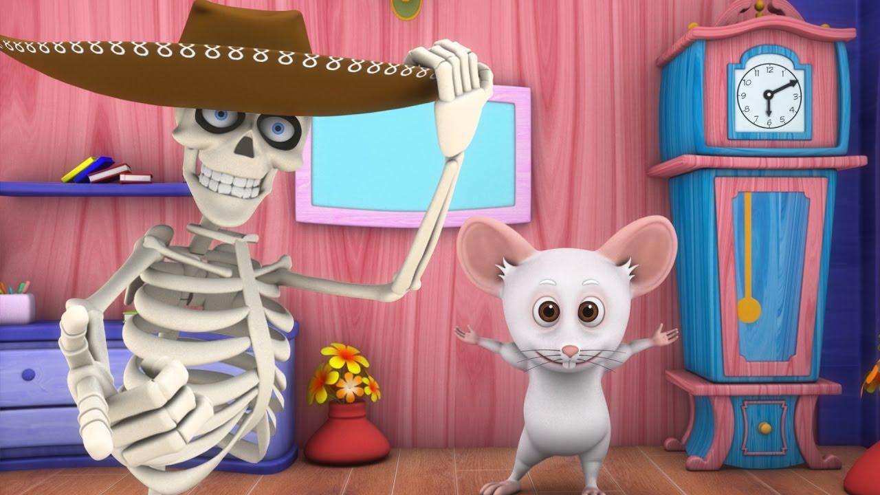Dem Bones The Skeleton Dance Kids Songs Nursery Rhymes Collection Kindergarten Baby Music Youtube