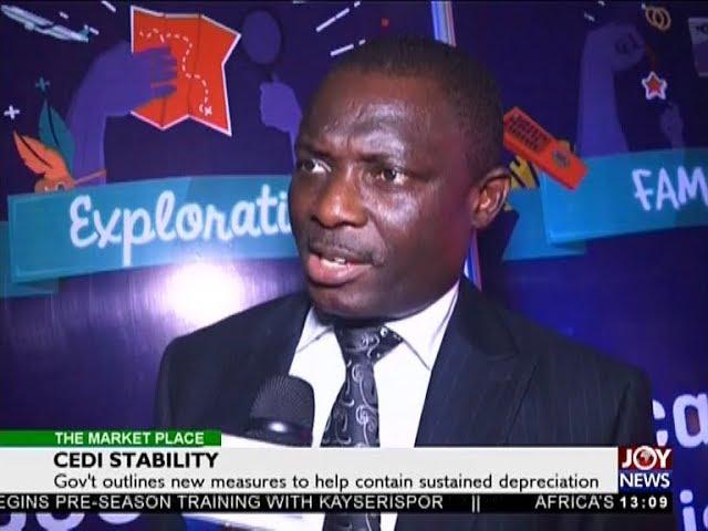 Cedi Stability   The Market Place on Joy News 4 7 18