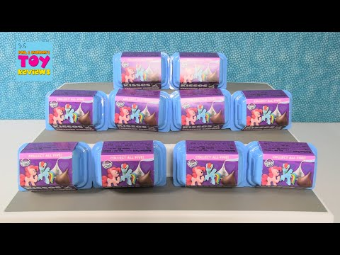 My Little Pony Hershey Treasure Surprise Candy Figure Unboxing Review   PSToyReviews