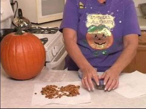 How to Roast Pumpkin Seeds : How to Store Pumpkin Seeds