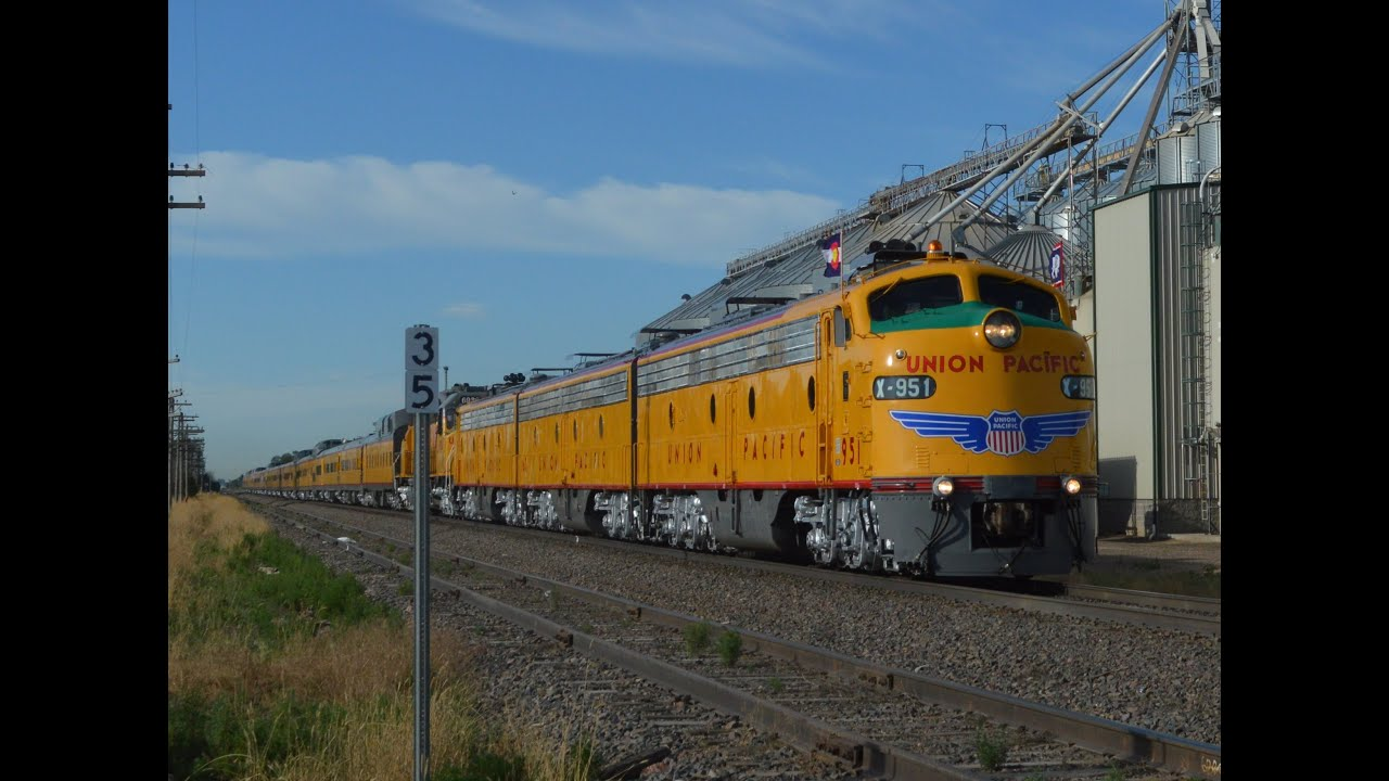 Union Pacific Cheyenne Frontier Days Train in 2015 with E9's and 6936