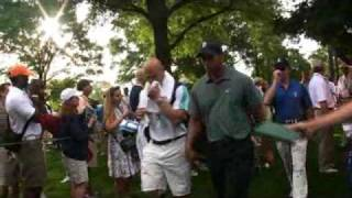 Download Tiger Woods and Peyton Manning @ Quail Hollow Pro-Am Mp3 and Videos