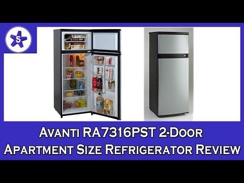 Avanti RA7316PST 2-Door Apartment Size Refrigerator Review