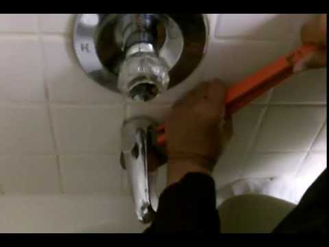 Leaky Bathroom Faucet Youtube replace that leaking bathtub shower diverter for good - youtube