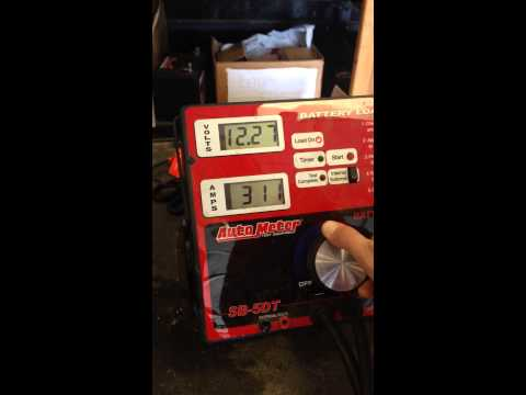 Juicebox 40AH Lithium Iron Phosphate Battery - 300 amp load test.
