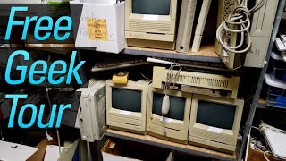 SO MUCH RETRO TECH at Free Geek Twin Cities!