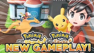 POKEMON LET'S GO PIKACHU & LET'S GO EEVEE NEW GAMEPLAY! CINNABAR ISLAND & ROCK TUNNEL!