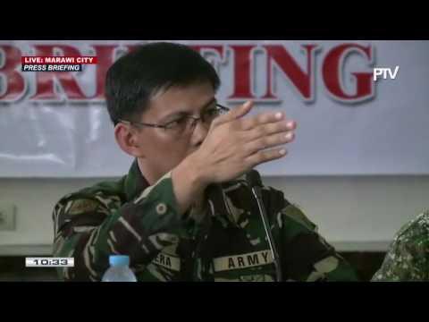 Press briefing sa Marawi City