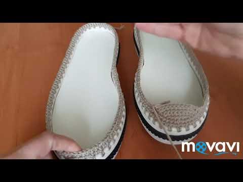 Обувь вязание крючком схемы и описание